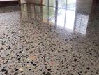 Titanium& Concrete Cut Polish Floor
