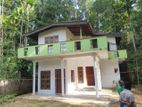 Two storied house for sale in Kandy