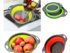 Silicone Collapsible Fruit/Vegetable Strainer (1PC)