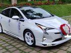 wedding car for hire prius 4th gen