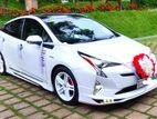 wedding car for hire prius